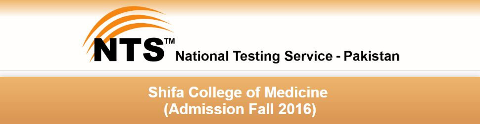 Shifa College of Medicine NTS Answer Key Result