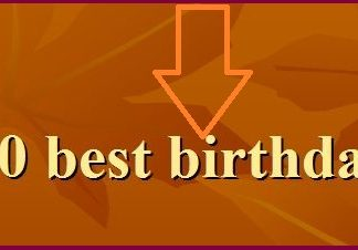 Latest and new Birthday sms and Messeges