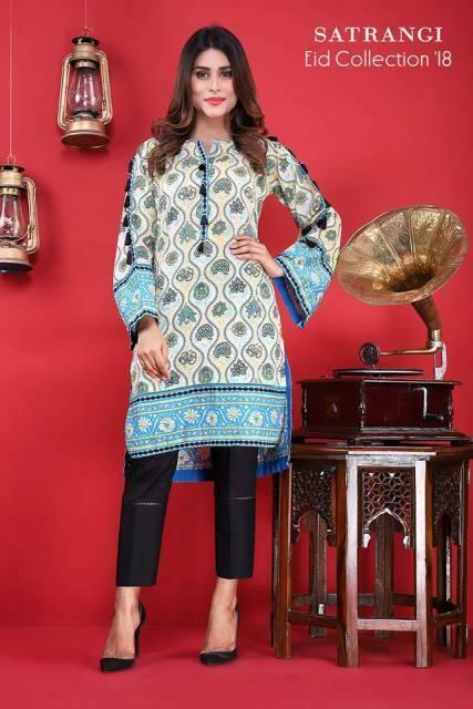 Bonanza Satrangi Eid Collection 2018