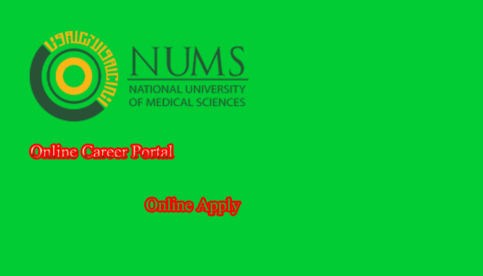National University of Medical Sciences (NUMS) Jobs