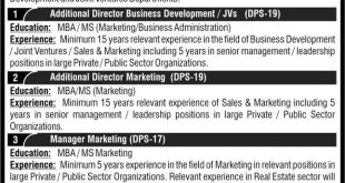 DHA Bahawalpur Jobs 22nd November 2020