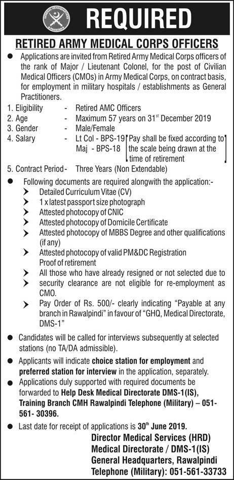 Army Medical Corps Jobs