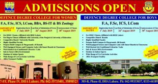 DEFENCE DEGREE COLLEGE FOR BOYS