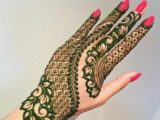most simple and beautiful mehendi design
