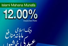 Bank Islamic Pakistan Islamic Mahana Munafa