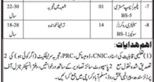 Sindh Prisons Department Jobs 2019