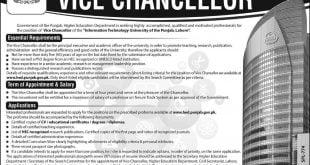 Information Technology University of the Punjab Jobs