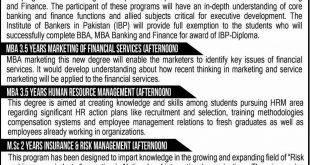 INSTITUTE OF BANKING AND FINANCE BAHAUDDIN ZAKARIYA UNIVERSITY, MULTAN