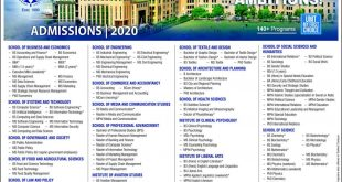 UMTundergraduate programs Admission 2020