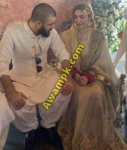 Hamza Ali Abbasi and Naimal Khawar's wedding pics