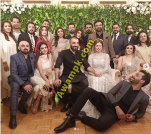 Hamza Ali Abbasi and Naimal Marriage Picture