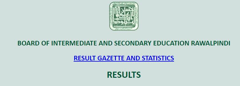 Bise Rawalpindi Board Inter 1st Year Result