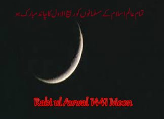 Rabi ul Awal 141 moon.