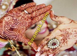 Flower Hand Mehndi Designs