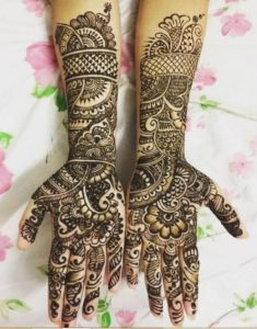 Simple Handi Mehndi Design