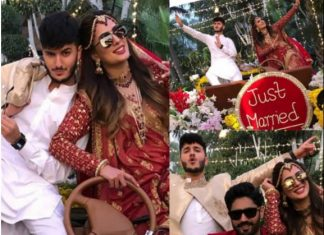 Mehwish Hayat and Shahveer Jafry Non official Marriage pics