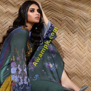 Safinaz Winter Dresses Muzlin Collection 2019