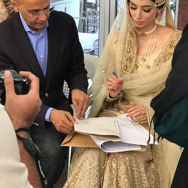 Zainab and her husband Hamza Kardar potos