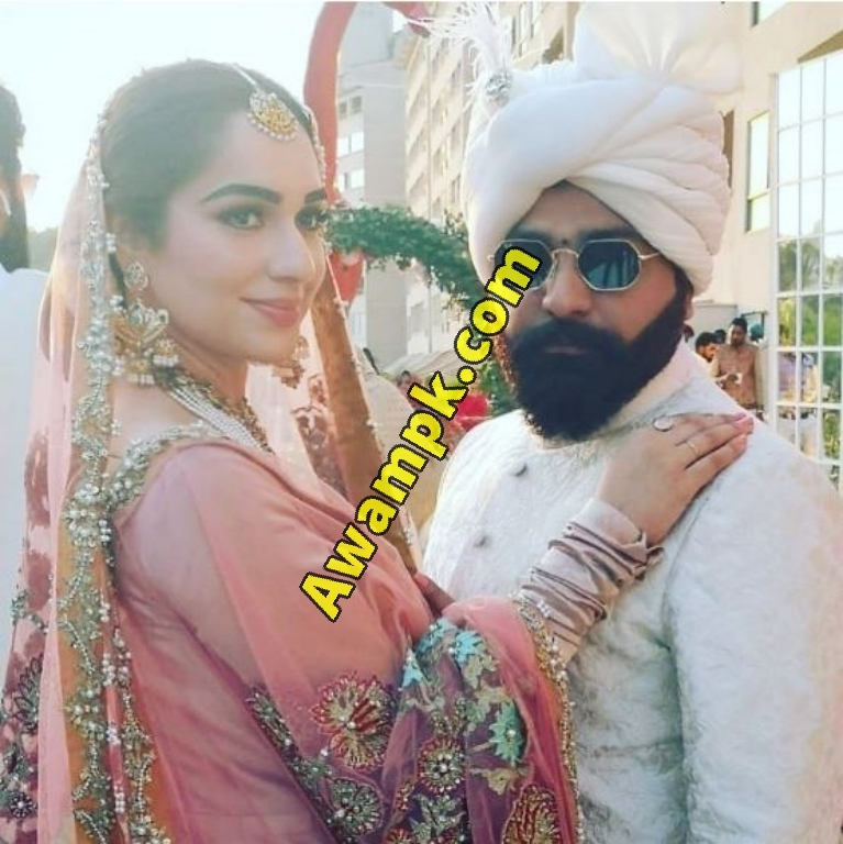 Fashion Designer Ali Xeeshan with Journalist Myrah Khan Marriage Pictures