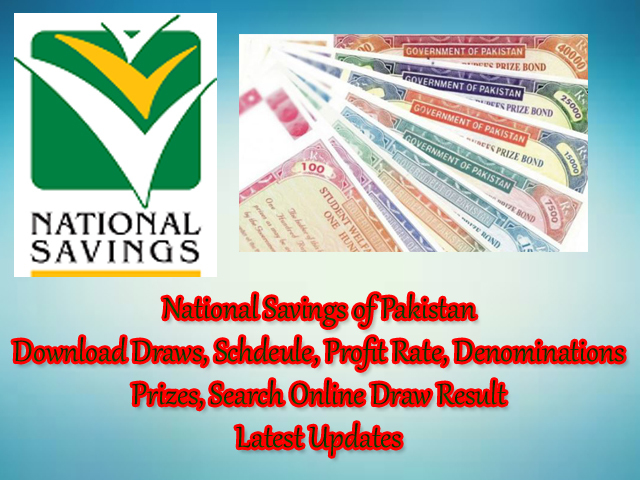 National Savings of Pakistan Online information and updates