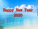 Beautiful Happy New Year 2020 Wallpaper