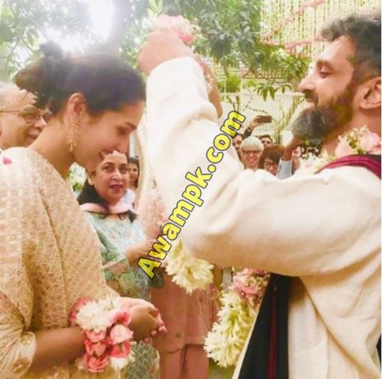 Mira Sethi with to Bilal M. Siddiqi Marriage Pictures