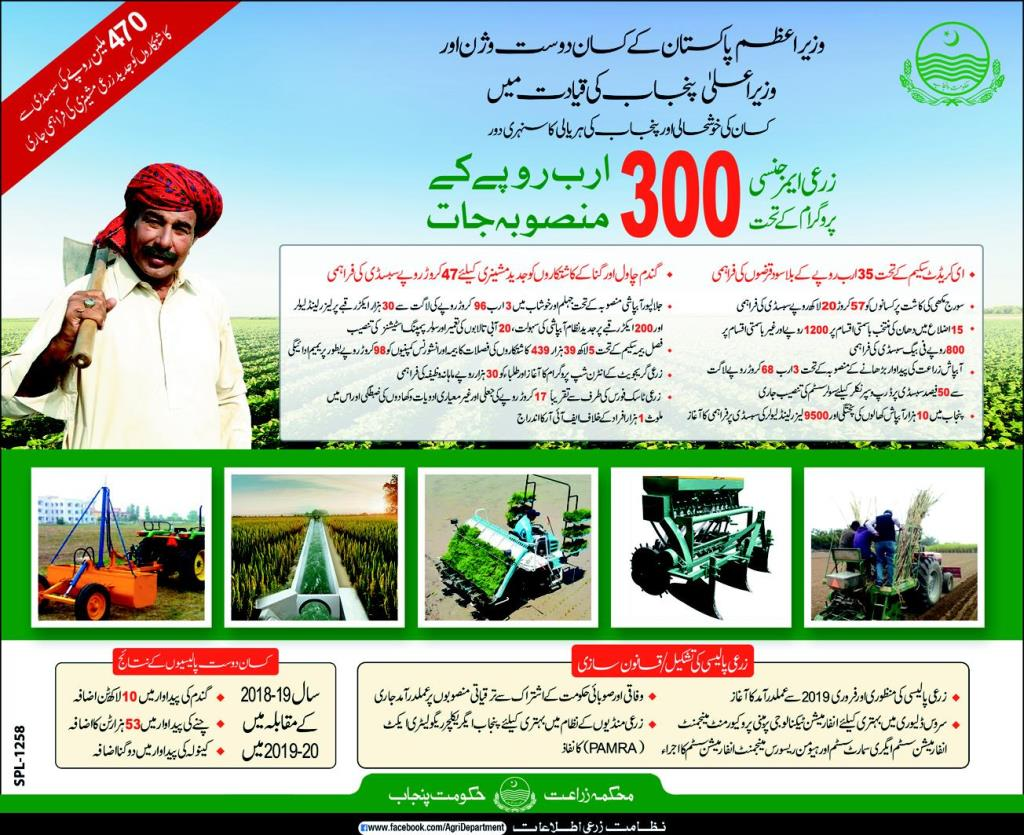 PM Agriculture Emergency Program 2020
