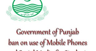 Punjab Government bans on use of Mobile phones and social media in Schools
