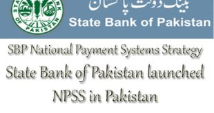 State Bank of Pakistan launched NPSS in Pakistan
