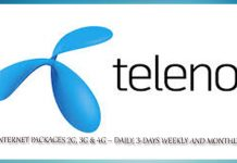 TELENOR INTERNET PACKAGES DAILY, 3-DAYS WEEKLY AND MONTHLY