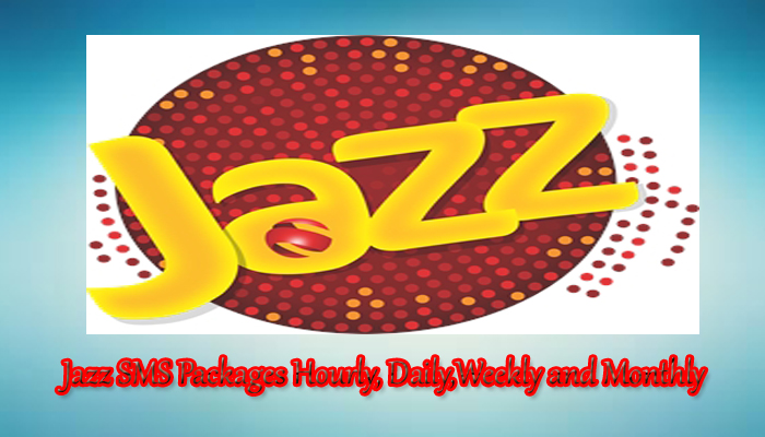 Jazz SMS Packages Hourly, Daily, weekly and monthly offer 2020