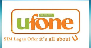 SIM Lagao Offer by Ufone