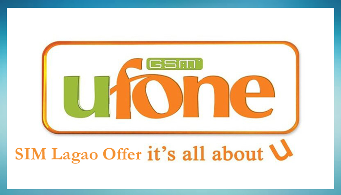 SIM Lagao Offer by Ufone