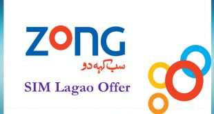 SIM Lagao Offer BY Zong