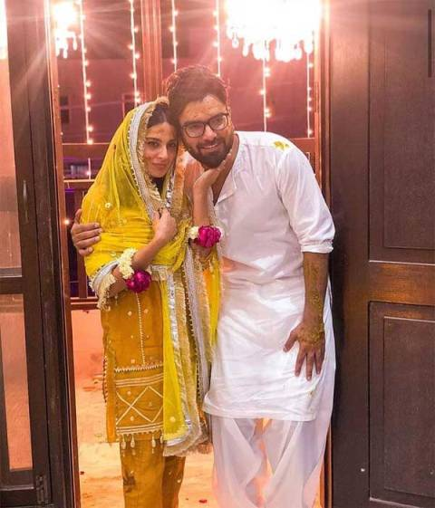 yasir hussain real wife Pictures
