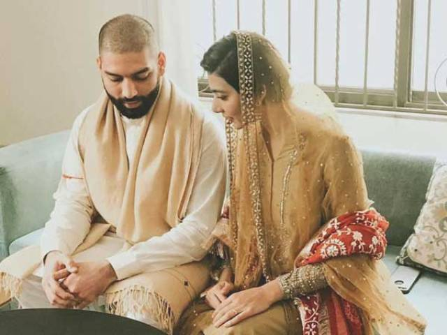 Eman Suleman ties the knot with beau Jamil Rizvi