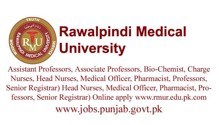 Rawalpindi Medical University (RMU)IUT Jobs