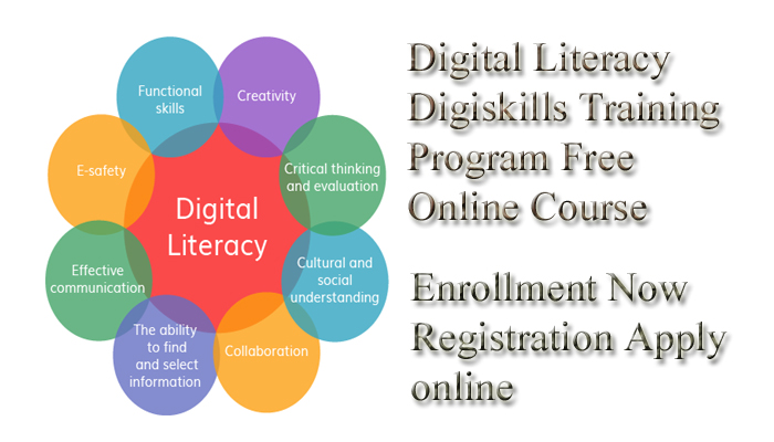 Digital Literacy Digiskills Training Program Free Online Course