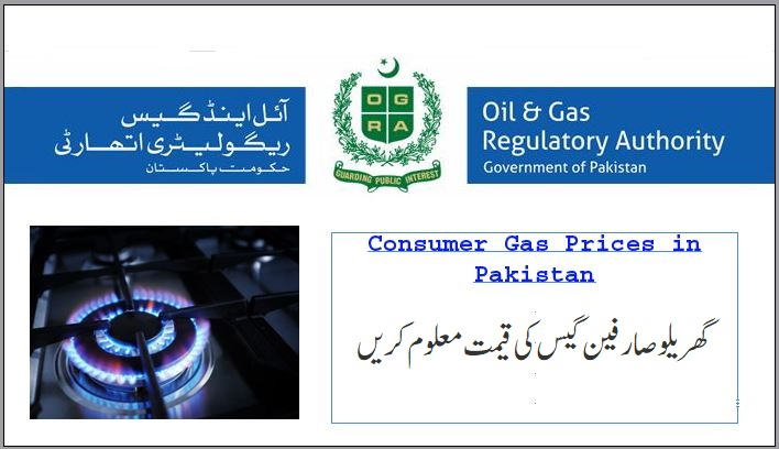 Sui Gas Prices in Pakistan