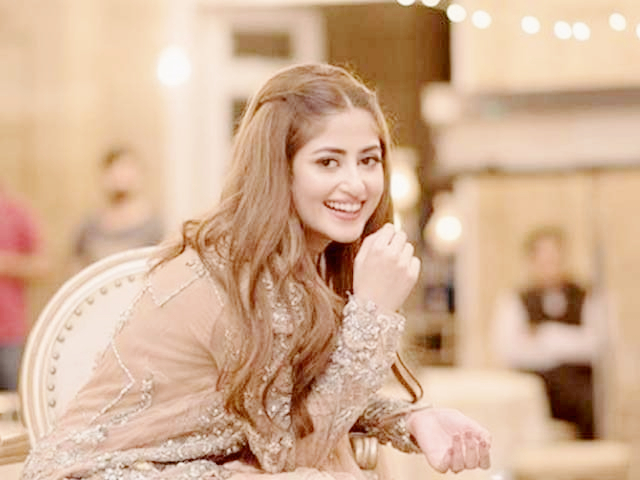 Sajal Ali and Ahad Raza Mir's Marriage Pictures