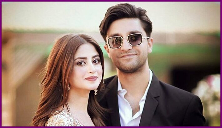 Sajjal Ali and Ahad Raza Mir's Marriage Pictures