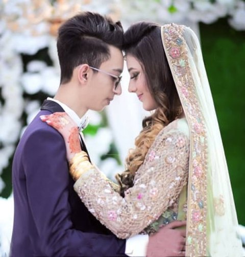 Asad Khan and Nimra Asad's marriage pictures