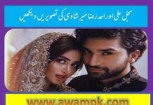 Sajal Ali and Ahad Raza Mir's wedding Pictures