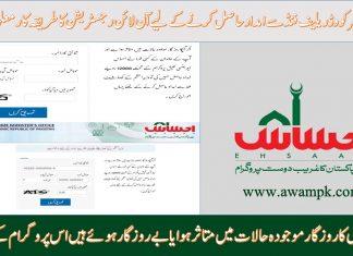PM Ehsaas labor Portal Online Registration For Rs.12000
