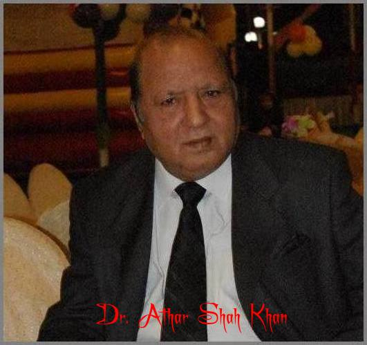 Dr. Athar Shah Khan ( Jedi)Passed away in Karachi