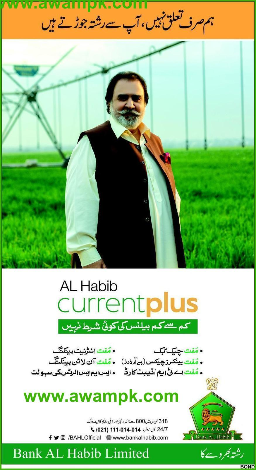 Al Habib Current Plus Account Eligibility, Benefits and Features