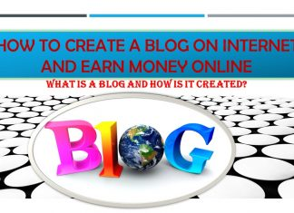 What is a blog and how is it created?