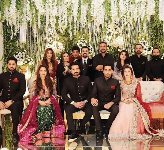 Actor Salman Saeed with Alina Fatima Marriage Pictures