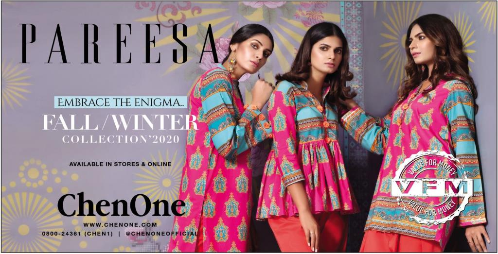 Pareesa Embrace the Enigma Collection 2020