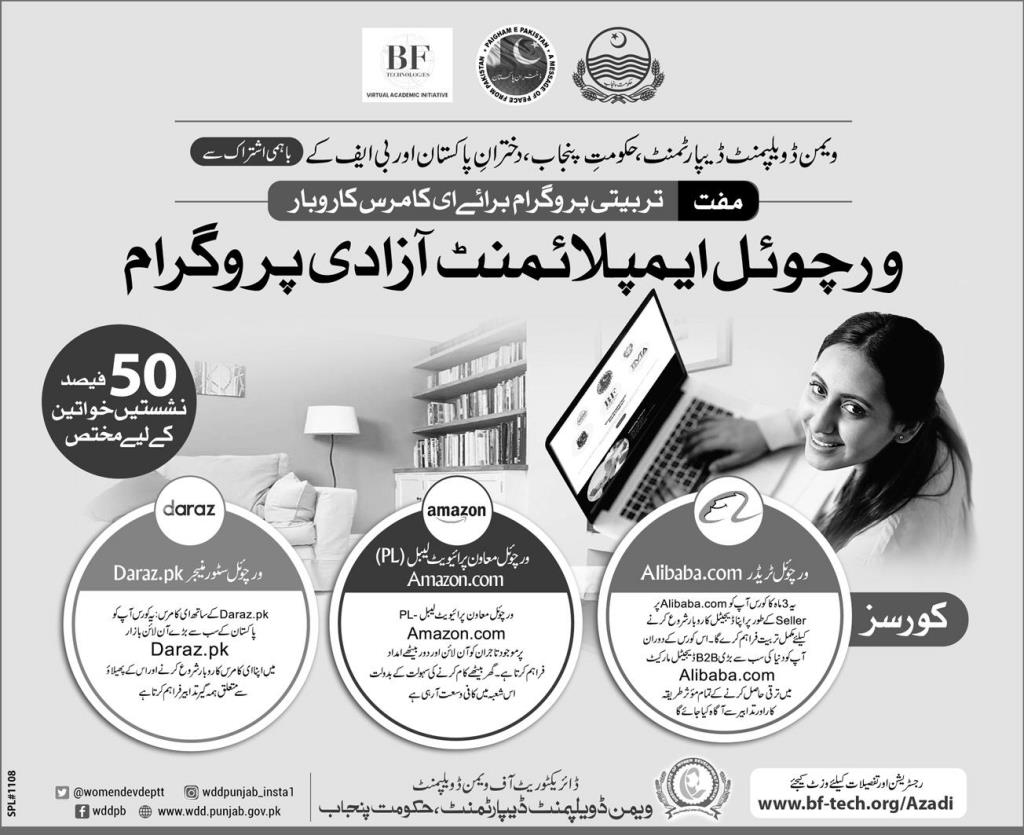 Virtual Employment Azadi Program